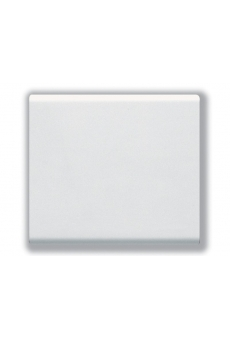 BOUTON POUSSOIR TOUCHE LARGE 16A BLANC