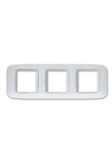 """Plaques """"YES 45"""" pour boîtes rondes et carrées    6 (2+2+2) MODULES"""