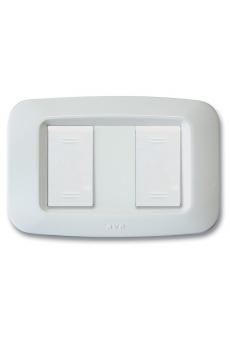 """Plaques """"YES 45"""" pour boîtes rectangulaires   2 (1+1) MODULES"""