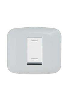 PLAQUE YES 45 CARREE BLANC 1 MODULE
