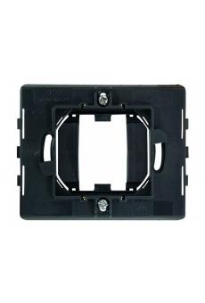 """Montures carrée pour plaques """"penchée 45"""" avec griffes -1/2 modules"""
