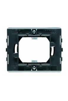 """Monture carrée pour plaques """" penchée 45"""" sans griffes -1/2 modules"""