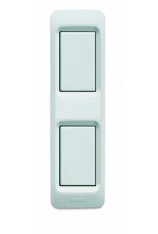 """Plaque """"MINI 45"""" pour panneaux profilés -2 modules"""